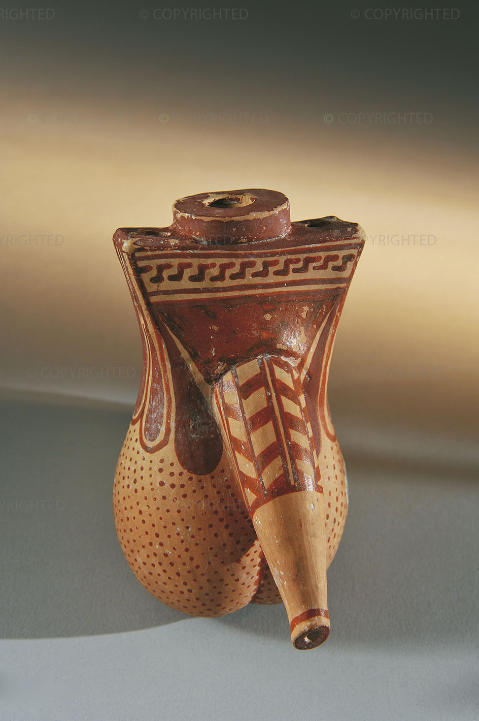 Phallic-shaped vessel